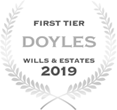 First Tier law firm.  Wills & Estates 2019