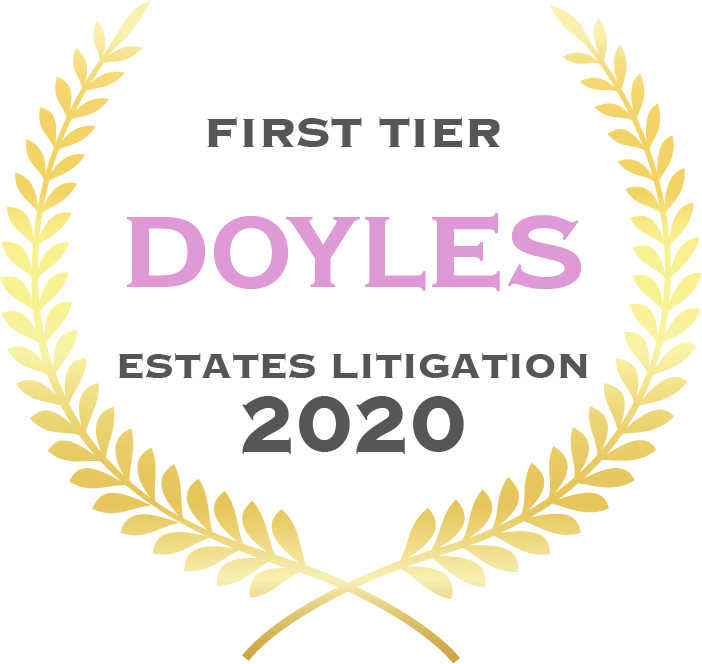 Doyles Guide - Estate Litigation 2020